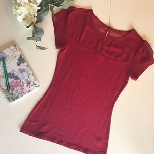 Express Red Blouse